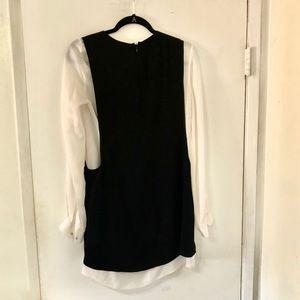 A.L.C. Dresses - A.L.C. Two Tone Salt & Pepper Dress